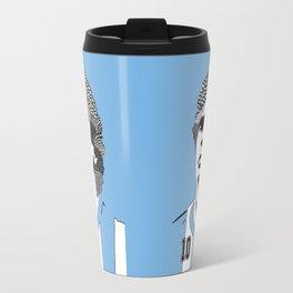Diego Maradona Argentina Travel Mug