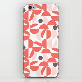 Living Coral Abstract iPhone Skin