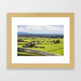 Travel to Ireland: Rock of Cashel Outlook Framed Art Print