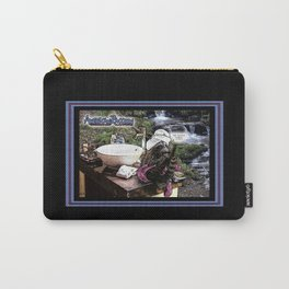 American Raccoon: Myths & Cleanliness Carry-All Pouch