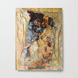 Stone Style Metal Print