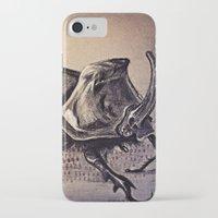 beetle iPhone & iPod Cases featuring Beetle by Werk of Art