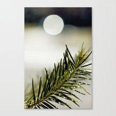 green. Canvas Print