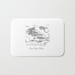 Frank Lloyd Wright Bath Mat