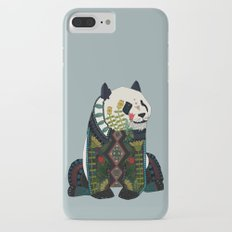 panda silver Slim Case iPhone 8 Plus