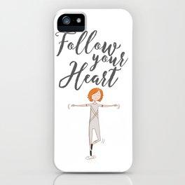 Follow your heart | Art wall | Dancer boy | dreams iPhone Case