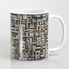 Abstract Metallic Structure Coffee Mug