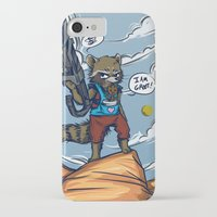 rocket raccoon iPhone & iPod Cases featuring Rocket Raccoon and Baby Groot  by BlacksSideshow