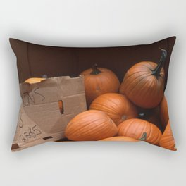 Pumpkins In a Box! Rectangular Pillow