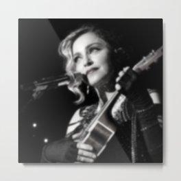 Madonna in Blur Metal Print