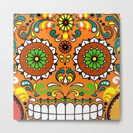 Sugar Skull #8 Metal Print