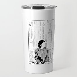 The Girl in a Box - Apprehension Travel Mug