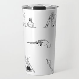 Witch Halloween Themed Design Travel Mug