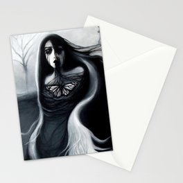 Alone, Full Painting Stationery Cards