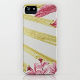 gift wrap intervention 02 vertical iPhone Case