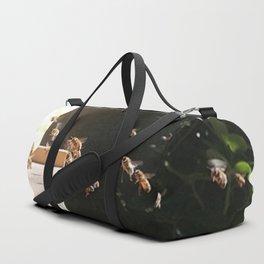 Honeybee Hive Duffle Bag