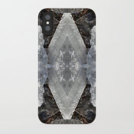 Diamond Ice Jewels Nature Image by Deba Cortese iPhone Case
