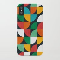 pie iPhone & iPod Cases featuring Pie in the sky by Picomodi