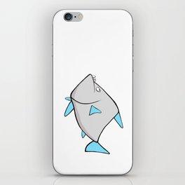 Scribble2Masterpiece - WARY PIRANHA fish! iPhone Skin