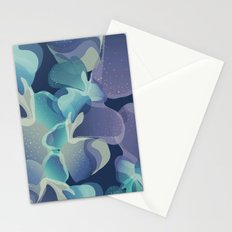 Micro Blue Stationery Cards
