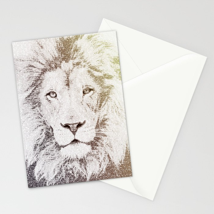 The Intellectual Lion Stationery Cards