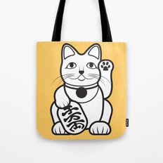 Lucky Cat - Maneki-Neko Tote Bag