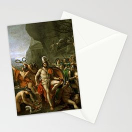 Leonidas at Thermopylai  Stationery Cards
