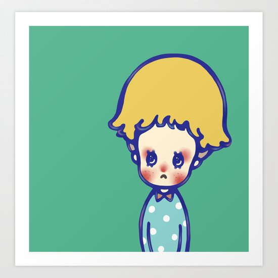 Where are you, little star? Art Print