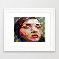 scuba Framed Art Prints featuring Scuba by Funda Mental