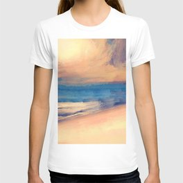 Approaching Sunset Abstract Seascape T-shirt