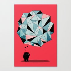 The Pondering Canvas Print