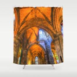 St Giles Cathedral Edinburgh Scotland Shower Curtain