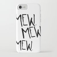 mew iPhone & iPod Cases featuring Mew. by Jenna Settle