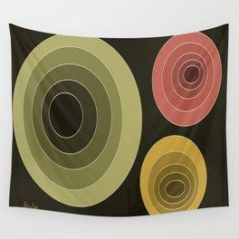 Echoes (Digital Rebound) Wall Tapestry