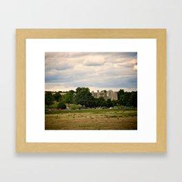 Bodiam Castle From Bodiam Station Framed Art Print