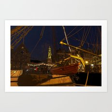 December Atmosphere Art Print
