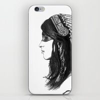 indian iPhone & iPod Skins featuring Indian by Peter Fulop