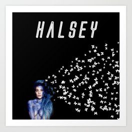 Halsey (Demo) Art Print