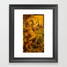Yellowed Male Framed Art Print