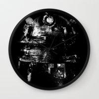 dalek Wall Clocks featuring Dalek by zerobriant