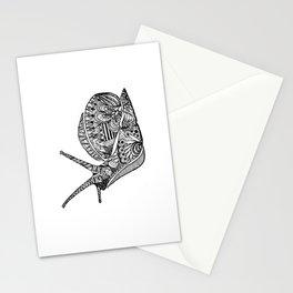 Zentangle Snail Stationery Cards