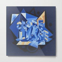 cube life Metal Print