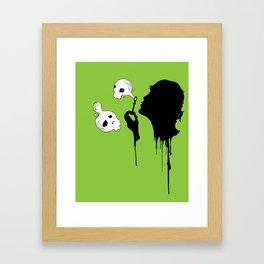 Her Name Was Death Framed Art Print