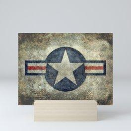 Stylized US Air force Roundel Mini Art Print