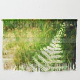 Green Fern Wall Hanging
