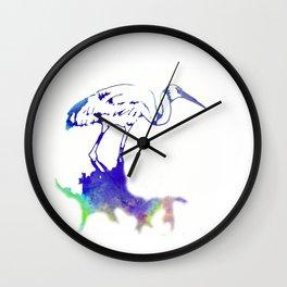 Brolga Dance - Ria Loader Wall Clock