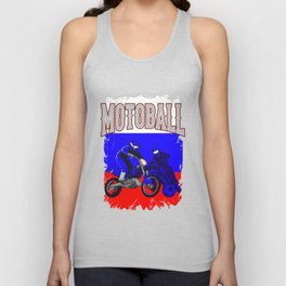 Motoball Russia Dirt Bike Gifts For Bikers Unisex Tank Top