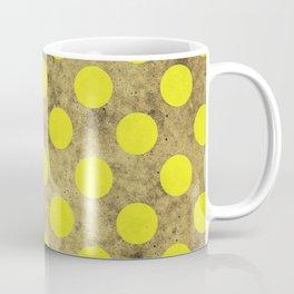 Green Dots Pattern Coffee Mug