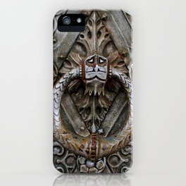 the door keeper iPhone Case