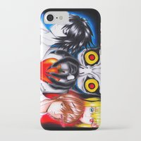 death note iPhone & iPod Cases featuring Death Note  by Amana HB
